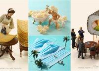 Įprastus buities daiktus menininkas paverčia miniatiūrinėmis istorijomis: svarbiausia – kad nesudrebėtų ranka