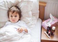 Kaune išaugo sergamumas gripu ir peršalimo ligomis: vietoj 20 vaikų, į darželį ateina vos 5