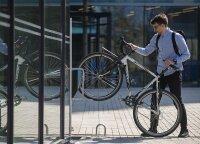 Vietos taupymo sprendimas dviračių mylėtojams