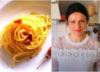 Jurga Jurkevičienė: imuninę sistemą stiprinantis spagečių receptas