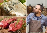 Jautienos kepsneliai su gorgonzolos sūriu: nedaug ingredientų, o rezultatas – stebinančiai gardus