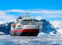 Iškeliavo į Antarktidą dar prieš valstybėms uždarant sienas ir įstrigo laive: uostai mūsų neįsileido