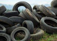 Lietuviai rado, kaip perdirbti senas padangas: stebina net didžiuosius pasaulio padangų gamintojus