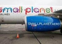 """""""Small Planet Airlines"""" Lietuvoje atleidžia apie ketvirtadalį darbuotojų"""