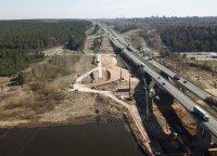 Naujo tilto ties Kleboniškio mišku statybos kelia nerimą dėl galimo potvynio