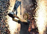 Karjeros pergalė: Zverevas emocingai triumfavo finaliniame ATP turnyre