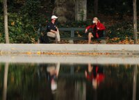 Pandemija keičia pasaulį: svarbiausi sprendimai Briuselyje priimami parkuose