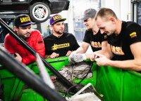"""""""Drifteris"""" ėmėsi išskirtinio projekto: prikels UAZ 469 su V12 varikliu"""
