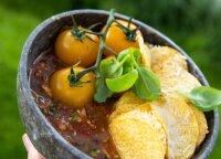 Aštri į Meksiką nukelsianti pomidorų sriuba