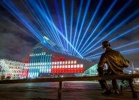 Ryga kviečia į svečius: miesto pastatai, aikštės, tiltai ir paminklai virs unikaliais šviesos meno kūriniais