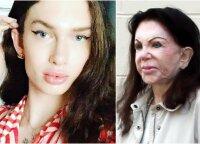 Translytė investavo tūkstančius, kad taptų panašesnė į 97-erių Sylvesterio Stallone mamą Jackie