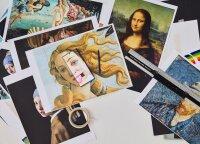 """Garsiausius šedevrus perkėlė į socialinius tinklus: menininkas parodė, kaip atrodytų klasikų kūriniai """"Instagram"""" amžiuje"""
