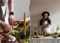 Velykų stalo idėjos: prisiminkime natūralius, mūsų senelių naudotus papuošimus