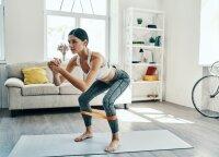 Ne prasčiau už sporto klubą: ką daryti, kad treniruojantis namuose pasiektumėte rezultatų