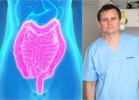 Gastroenterologas sujaukė įsivaizdavimą apie virškinimo sistemą: mitas, kad ligas sukelia bloga mityba