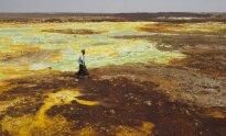 Danakilų įduba Etiopija