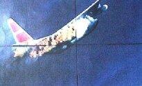 Žvalgybinis orlaivis RC-130A numuštas sovietų naikintuvo