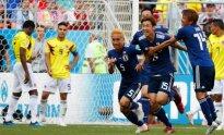 Pasaulio futbolo čempionatas: Kolumbija – Japonija