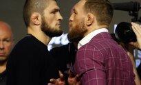 UFC kovos spaudos konferencija: Conoras McGregoras – Khabibas Nurmagomedovas