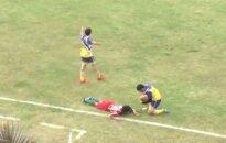 Argentinos futbolininkas mirė nuo traumų patirtų aikštėje