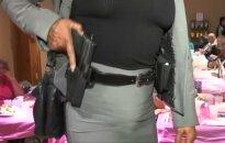 Amerikietės pageidauja moteriškų dėklų ginklams