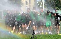 """""""Žalgirio"""" futbolininkai priima ledinį dušą"""