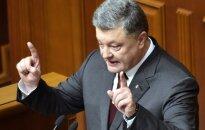 Ukrainos prezidentas reikalauja ginklų savo šaliai