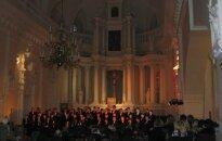 """Choras """"Dagilėlis"""" padovanojo kalėdinį koncertą šiauliečiams"""