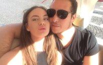 Aaronas Perezas su mylimąja Urte