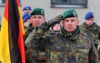 Lieutenant Colonel Christoph Huber, the commander of the NATO battalion