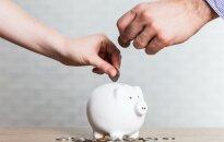 Namų ūkių taupymą keičia skolinimasis