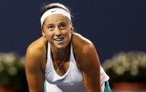WTA varžybose JAV suklupo abi latvės