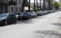 Automobilių statymas Palangoje