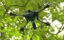 Šveicarai sukūrė droną, kurio valdymas yra kaip aitvaro