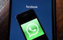 """""""WhatsApp"""" leis bendrovėms siųsti pranešimus savo vartotojams"""