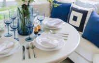 Patarimai, padėsiantys išsirinkti valgomojo stalą