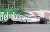 F. Massa Kanadoje patyrė avariją