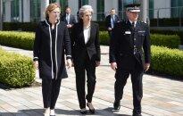 Jungtinėje Karalystėje paskelbtas kritinis terorizmo grėsmės lygis