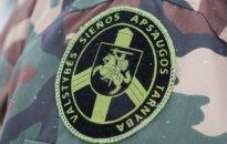 Sulaikytas Varėnos pasienio rinktinės A. Barausko užkardos vadas