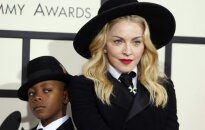 Madonna su sūnumi Davidu Ritchie
