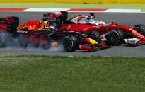 Vokietį atakavęs D. Ricciardo: S. Vettelio skundai – tipinis jo elgesys