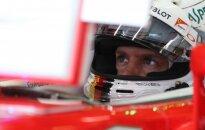 """S. Vettelis kritikuoja """"Ferrari"""": visi tobulėja, o mes žengėme atgal"""