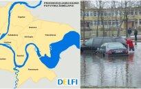 Potvynio rizika Kaune