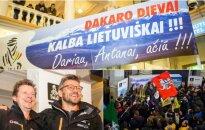 Antanas Juknevičius ir Darius Vaičiulis grįžo iš Dakaro ralio