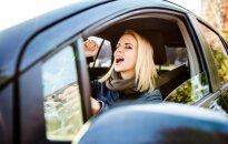 Jei vairuojam – nedainuojam
