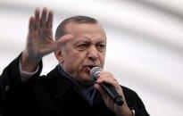 Turkijoje prasideda teismas dėl įtariamo pasikėsinimo į R. T. Erdoganą
