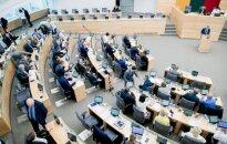 Morning Seimas seating