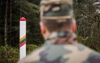 Lithuanian border guard