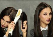 Plaukų tiesinimas garais su Deimante Kazėnaite