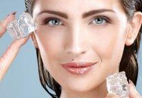 Ledo terapija - norinčioms išsaugoti odos grožį ir jaunystę